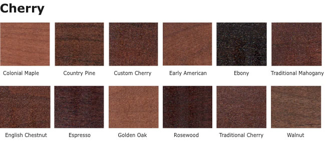 cherry finishes
