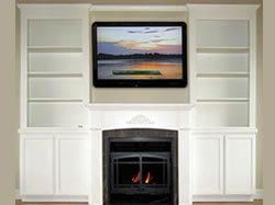 Fireplace Fronts Wood Mantels Shelves Cabinets And Wall